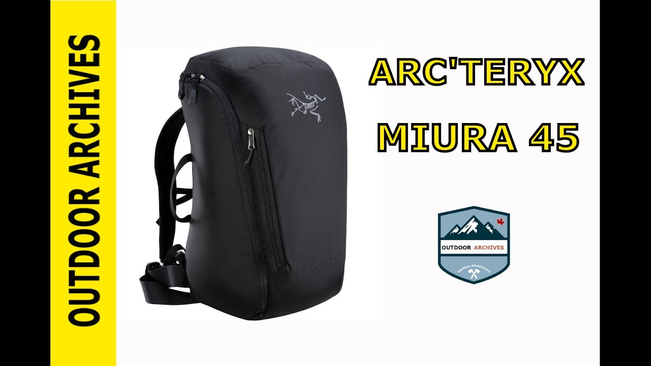 dd7fc100d0 Overview: Arc'Teryx Miura 45 Hiking Backpack - YouTube