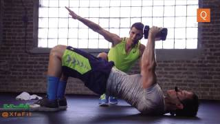 35 Minutes of High Intensity Interval Training With Xfa Fitness