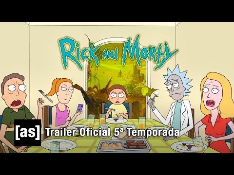 TRAILER DA 5ª TEMPORADA DE RICK AND MORTY!