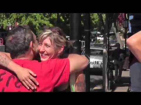FREE HUGS Ashland Oregon Pt3
