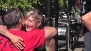 FREE HUGS Ashland Oregon Pt3