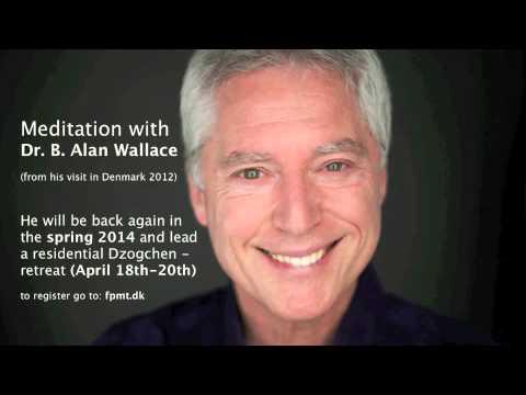Vipashana meditation w. Dr. B. Alan Wallace