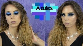 Makeup azules y turquesas - combinación explosiva