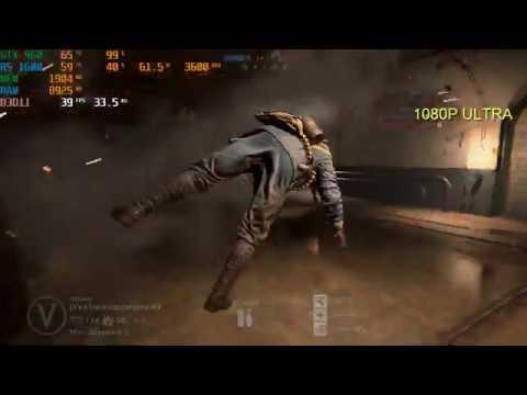 Battlefiled 1 Gameplay - Ryzen 5 1600 (12nm) + GTX 960 2GB - All Settings FPS Test