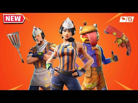 Claim The NEW SKINS In Fortnite Now! (DURR BURGHER SKINS)