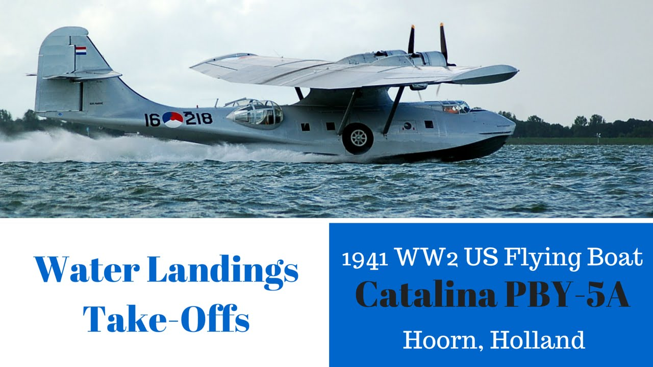 Catalina PBY 5A - WW2 US Flying Boat