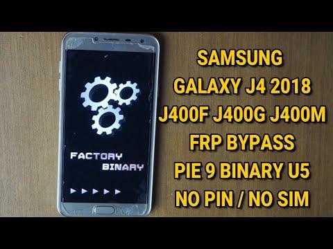 Samsung galaxy J4 Frp bypass google account via combination