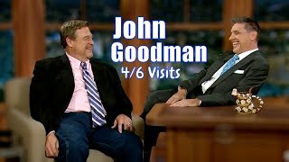 John Goodman - Is Being Hilariously Ridiculous With Craig - 4/6 Visits In Chrono. Order