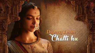 Padmaavat | Pag Pag Dolu Re | Nainowale Ne | Lyrical Whatsapp Status Video Song | Deepika Padukone |