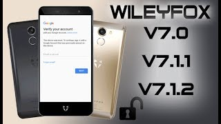 FRP 2018 ON ANY WILEYFOX BYPASS ACCOUNT GOOGLE LOCK