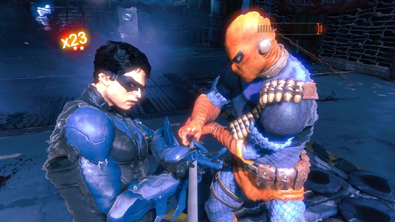 batman arkham origins nightwing vs judas contract