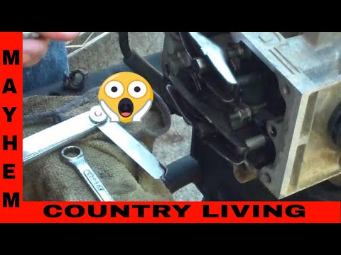 How to adjust valves on an OHV Briggs