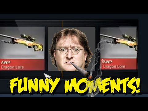 CS:GO FUNNY MOMENTS - CLUJ COBBLESTONE UNBOXING, DRAGON LORE QUEST, BANNED  & MORE (funny moments)
