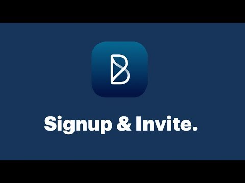 How to: Signup and Invite your Team