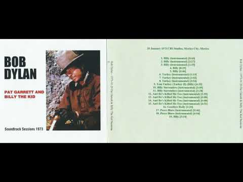 BOB DYLAN live PAT GARRETT AND BILLY THE KID, 20.01.1973. Soundtrack Sessions 1973