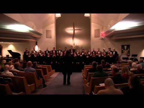 University of Jamestown Choir March 8 2015