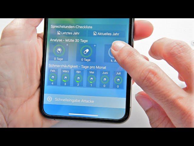 Die Migräne-App  im professionellen ärztlichen Versorgungsgeschehen