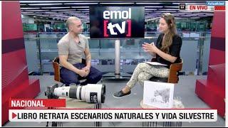 Presentación Libro Torres del Paine en Emol TV