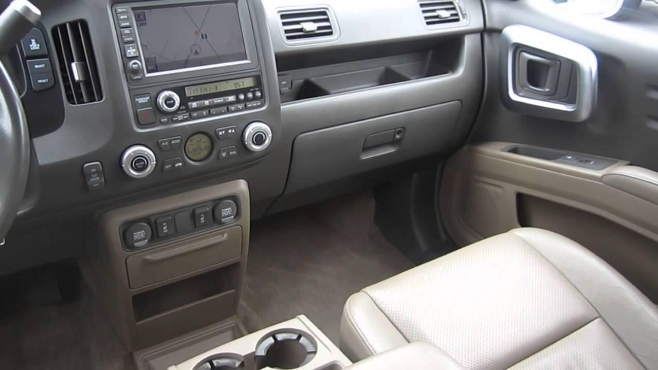 2008 honda ridgeline interior
