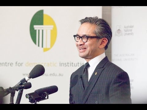 CDI Annual Address: Indonesian foreign policy and global democracy - Dr Marty Natalegawa