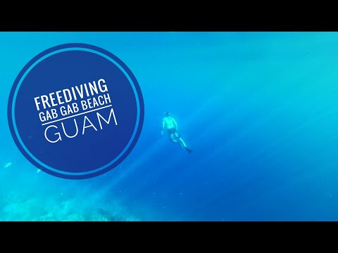 Free Diving Gab Gab Beach Guam