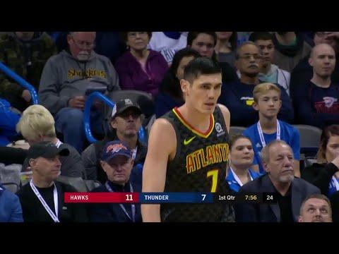 Ersan İlyasova'nın 22 sayılık Oklahoma City Thunder maçı performansı