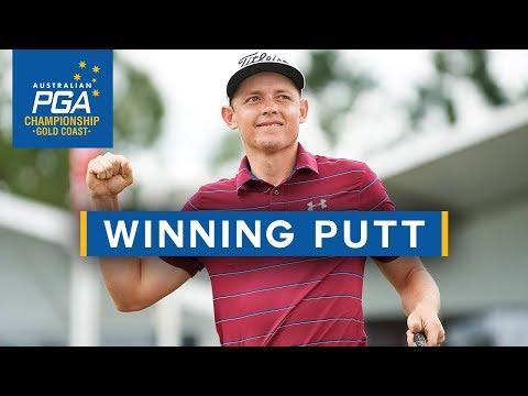 Cameron Smith Winning Putt - 2017 Australian PGA Championship