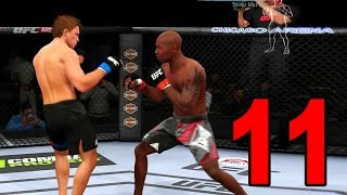 UFC 14 Career Mode - Part 11 - The Comeback Kid! (EA Sports UFC 2014 Gameplay)