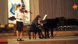 Шарль Данкля . Концертное соло №3 a-moll