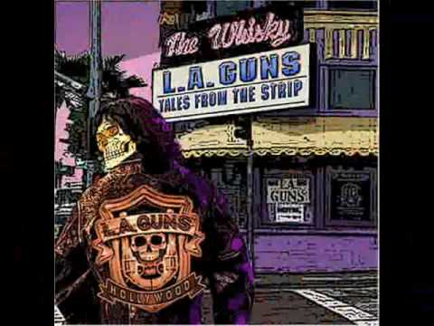 L.A. GUNS-WASTED(with lyrics at the side)