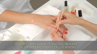 Cómo quitar el esmalte seco de la piel : Tips para Manicura
