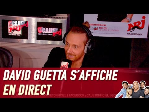 David Guetta s'affiche en direct – C'Cauet sur NRJ