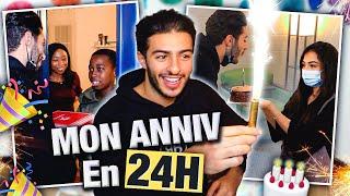 24H AVEC MOI LE JOUR DE MON ANNIIIIV 🥳