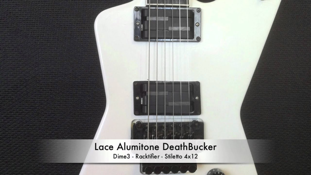 lace alumitone deathbucker clip high gain  [ 1280 x 720 Pixel ]