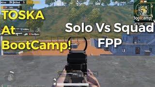 SANHOK! (FPP BootCamp GamePlay) 1 vs 4 PUBG Mobile | Bootcamp Montage