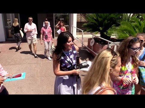EXCLUSIVE - Monica Lewinsky at Cannes Lions Festival in Cannes