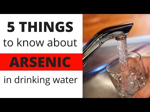 5 Things To Know About Arsenic In Drinking Water