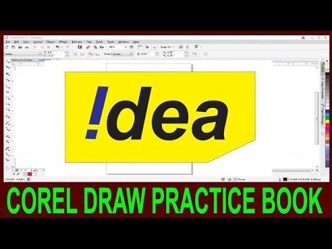 How To Make Logo In Corel Draw || Corel Draw Idea Logo Degine In Hindi ||