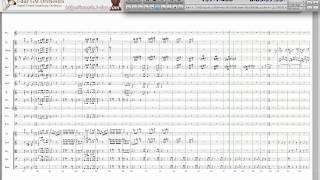 Johann Strauss II : Die Fledermaus Overture with Score