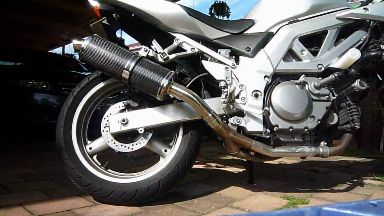 suzuki sv650s w delkevic slip on exhaust