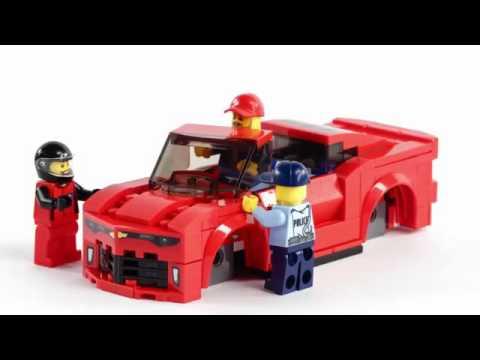Toys Unboxing Toys Lego Speed Champions Chevrolet Camaro Drag Race