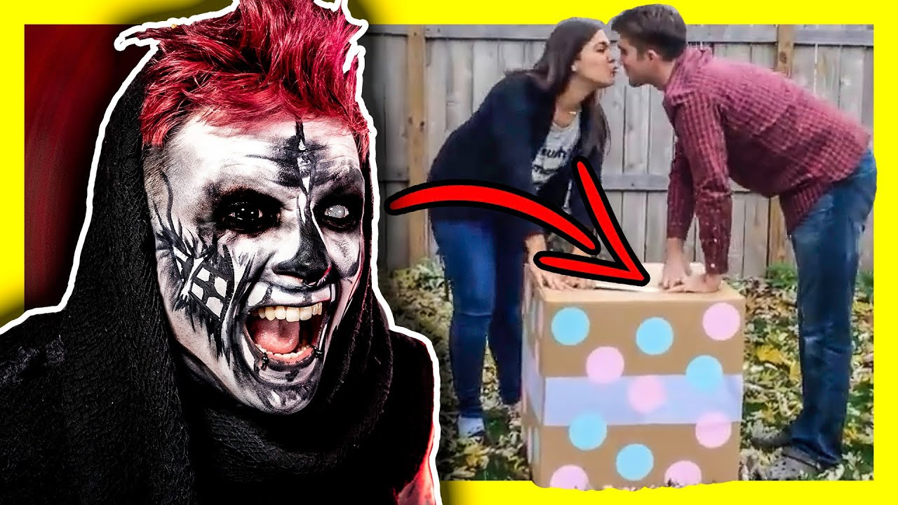 GOTH REACTS TO GENDER REVEAL FAILS