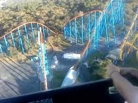 Superman El Ultimo Escape Six Flags Mexico Youtube
