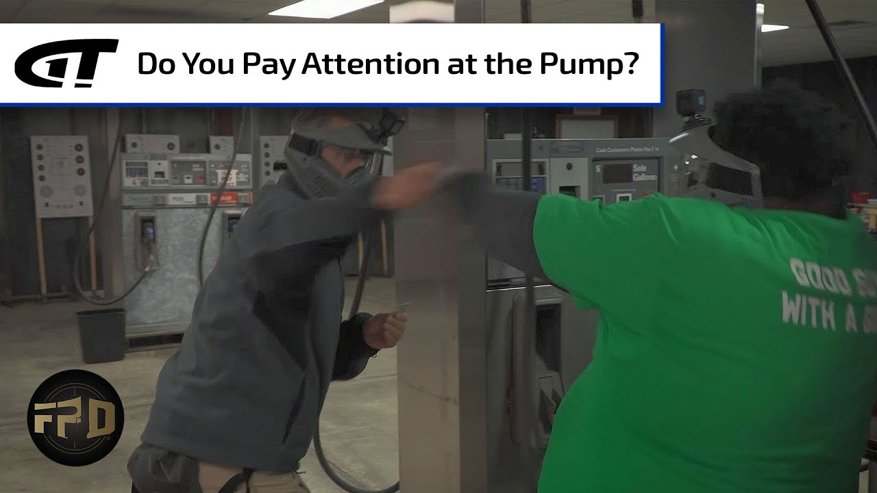 Download Man Attacked At Gas Station Pump | First Person Defender