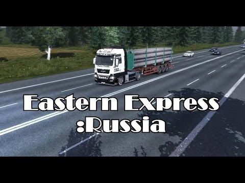 Delivery (Eastern Express Russia Map) - Euro Truck Simulator 2