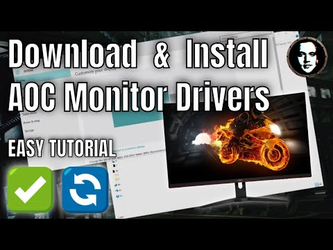 How To Download And Install AOC Monitor Drivers Manually For Windows 10 - 2020