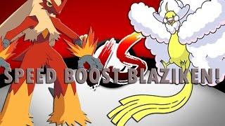 SPEED BOOST BLAZIKEN!😱😍 | Roblox | Pokemon Brick Bronze - Part 107 👍