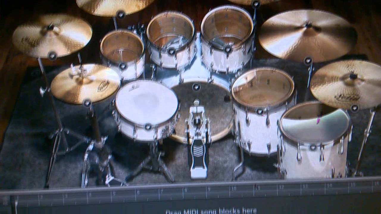 full 16 piezo midi trigger drum kit test youtube. Black Bedroom Furniture Sets. Home Design Ideas