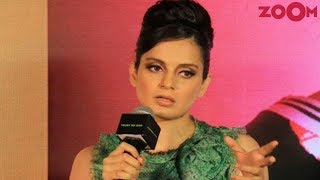 Kangana Ranaut39s argument with journalist takes an ugly turn  Bollywood News