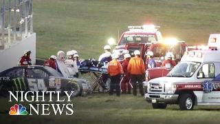 Kyle Busch'S Daytona Crash Questions Track Safety | Nbc Nightly News